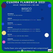 Cuadra Flamenca - Escola de Dança Flamenca - Aulas